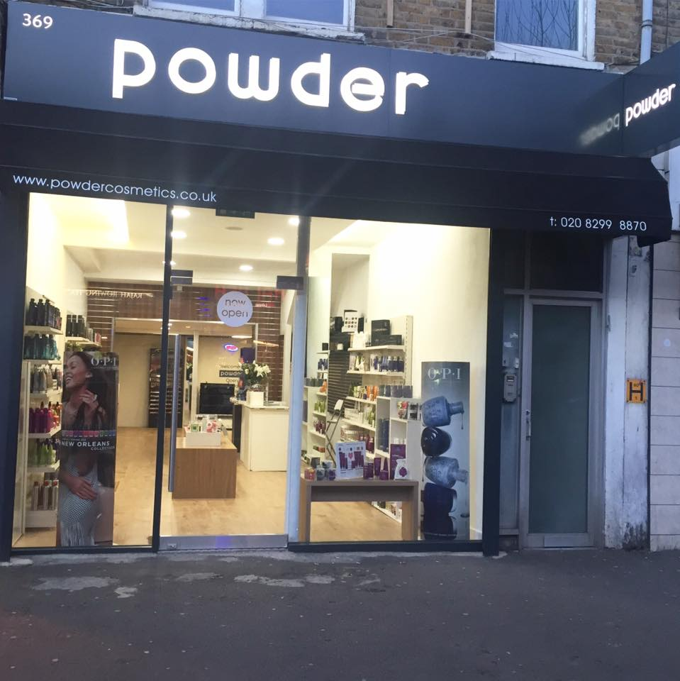 Powder Cosmetics in Dulwich South London Club