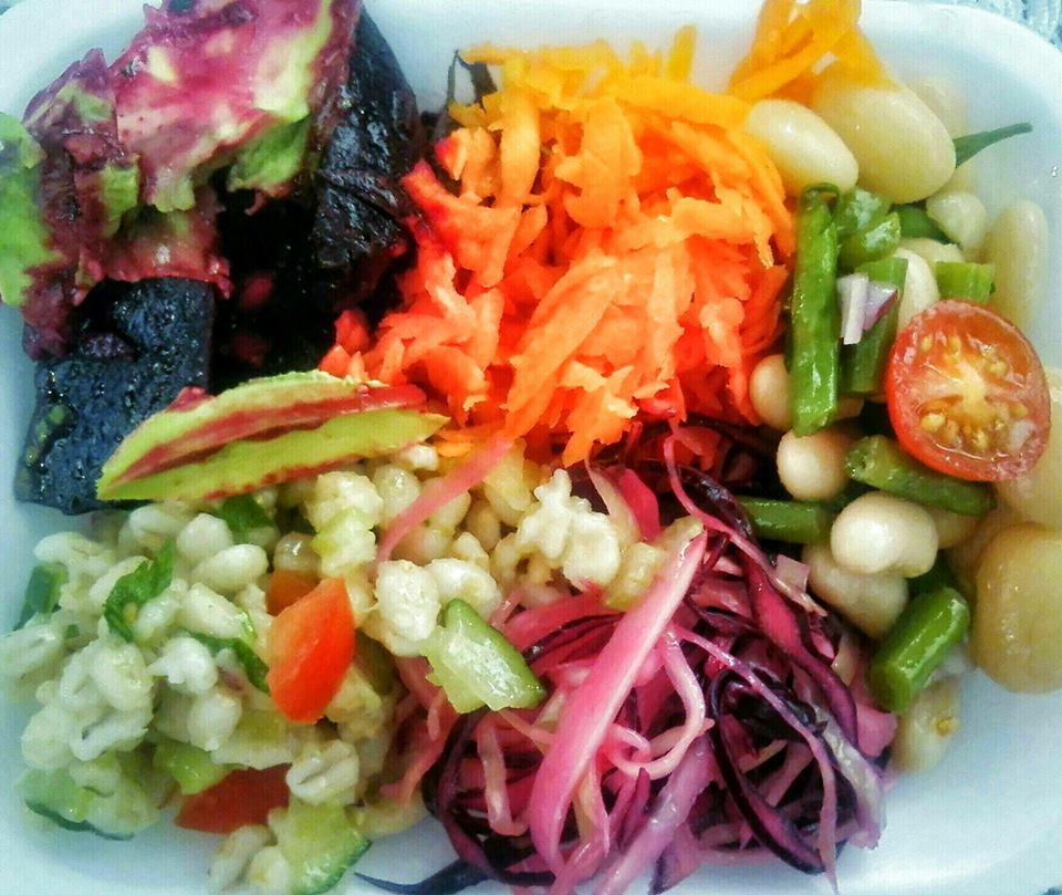 Vegan Garden Vegan Food Pop-up Stall in Greenwich Market South London Club