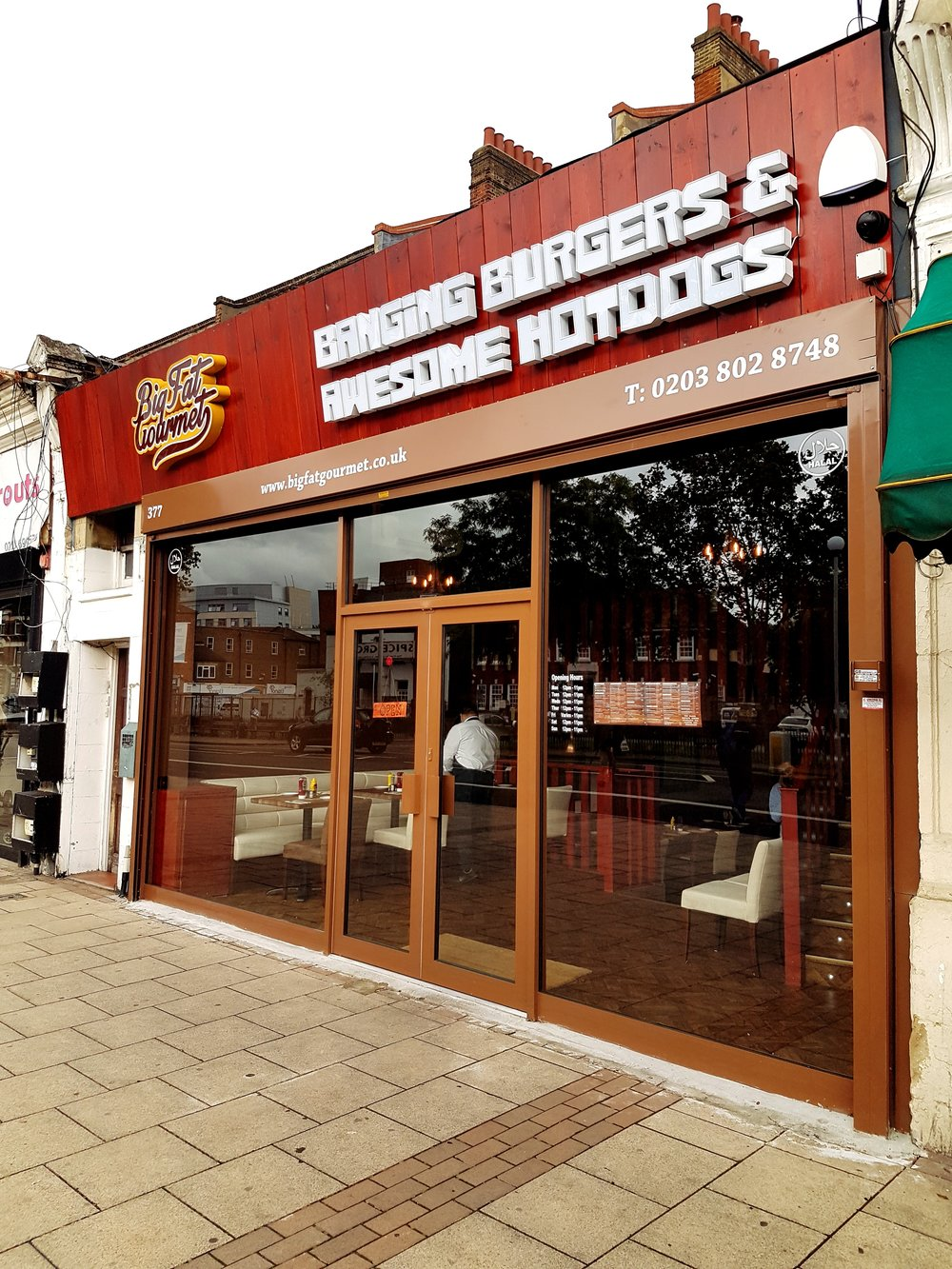 Big Fat Gourmet Burger Restaurant in Catford South London Club