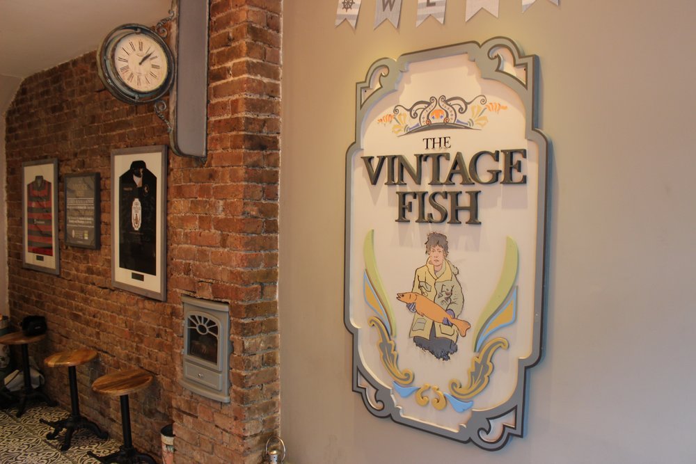 The Vintage Fish - Fish and Chip Shop In Lee South London Club