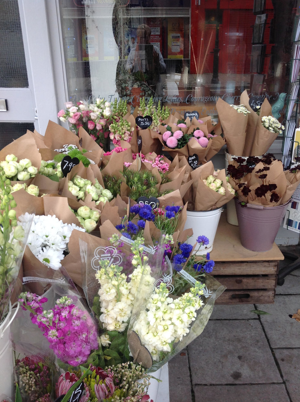 A.G. Flowers Florist in Nunhead South London Club  4.jpg