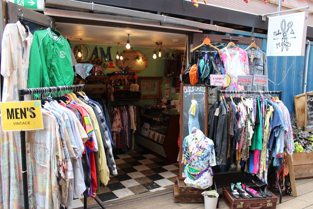 Make Do And Mend Vintage & Retro Clothing Shop in Brixton South London Club