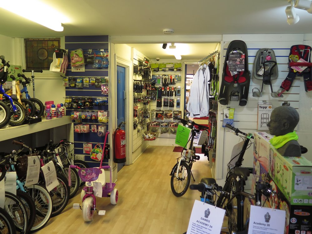 Blue Door Cycles Bike Shop in Crystal Palace South London Club
