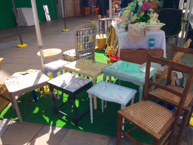 Dolly Did It Vintage & Up-cycled Furniture in Herne Hill South London Club