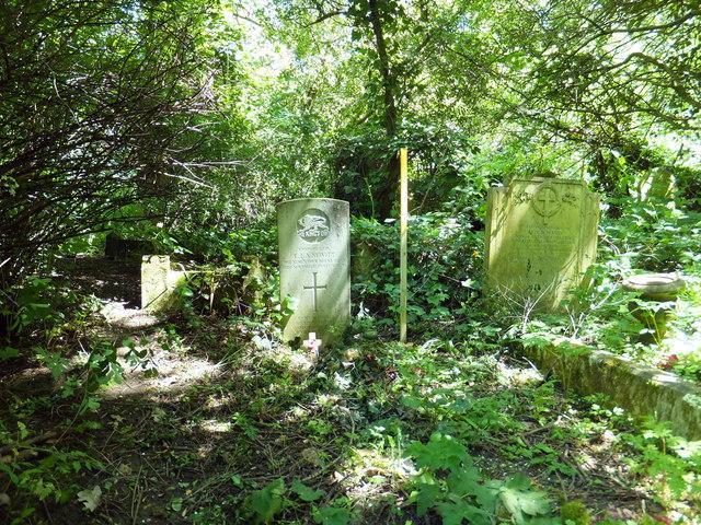 War grave in Nunhead Cemetary