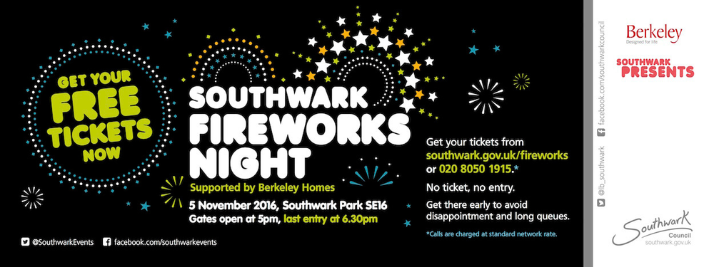 Southwark Fireworks Night South London Club