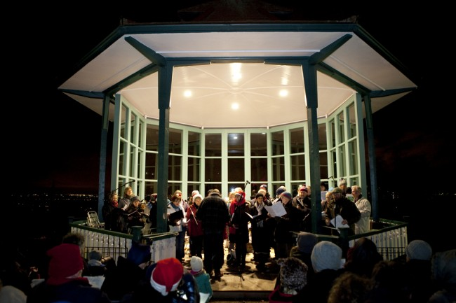Carols at the Bandstand - Horniman Christmas Fair