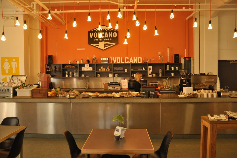 Volcano Coffee Works South London Club