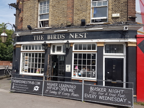 The Birds Nest Deptford South London Club.