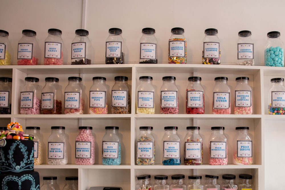 Sugar Mountain's vast sweet selection