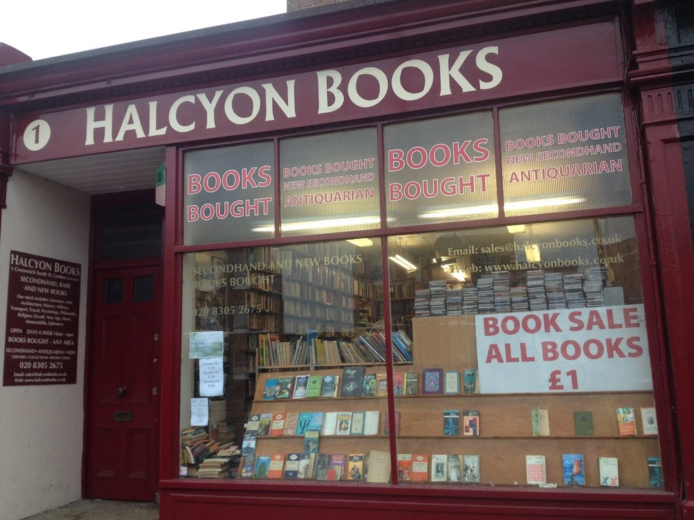 Halcyon Books, Greenwich.