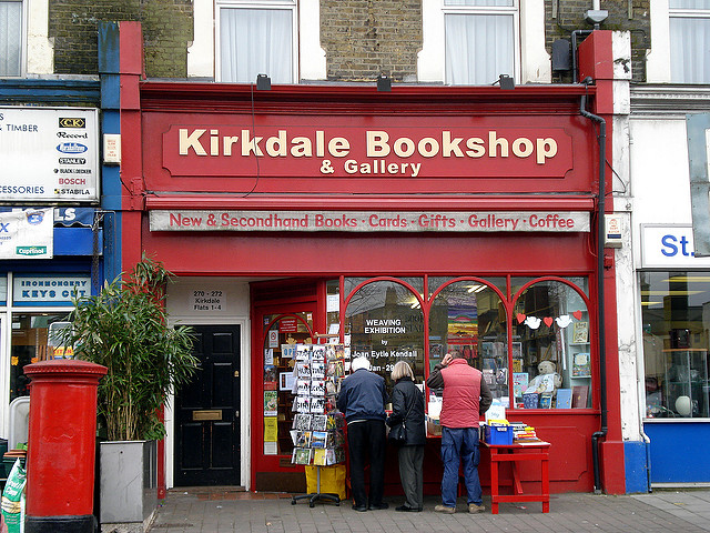 Kirkdale Bookshop South London Club