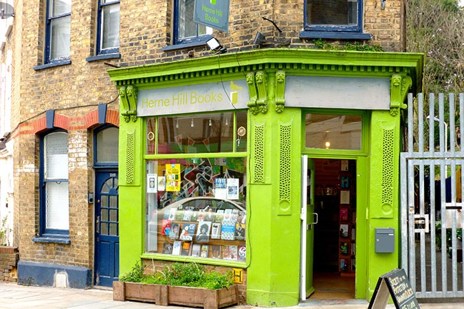 Herne Hill Books. Photo credit: suitcasemag