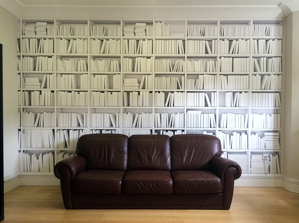 Library Black _ White Wall Mural 1.jpg