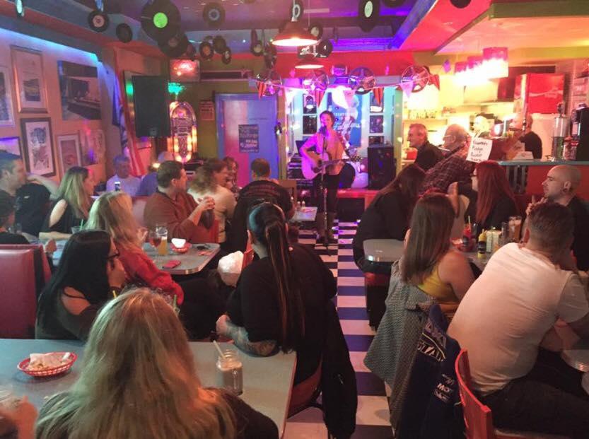 Sizzle 'n' Shake American Diner in Wallington South London Club Card 4.jpg