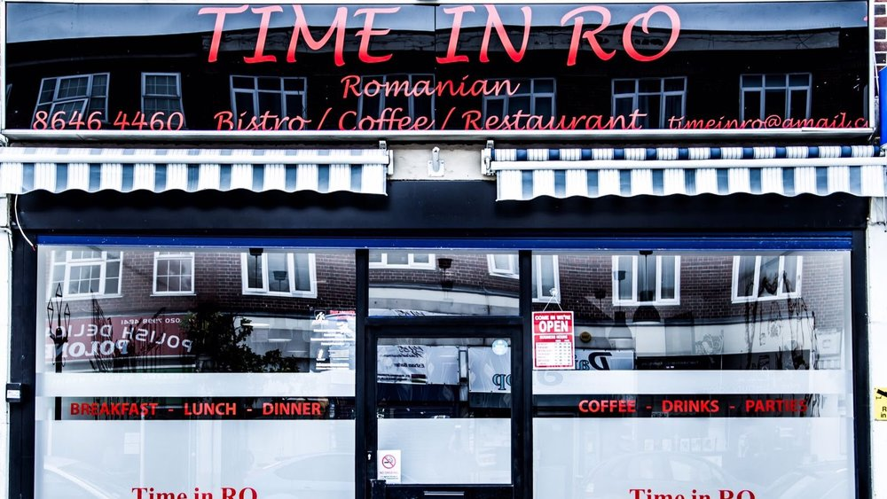 Time in RO Romanian Restaurant in Morden South London Club Card .JPG