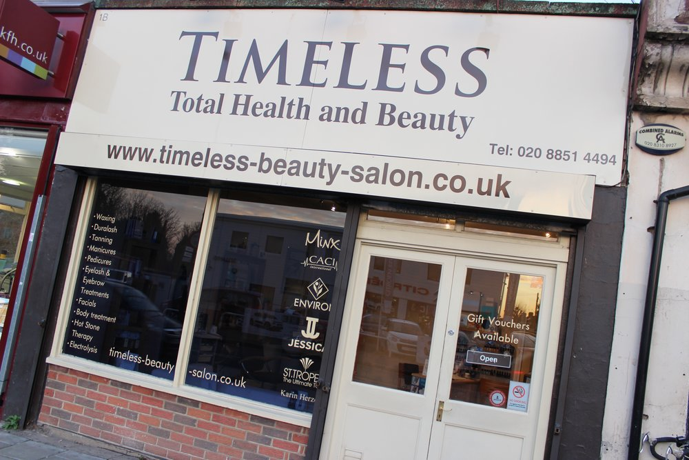 Timeless Beauty Salon in Lee South London Club Card 9.jpg