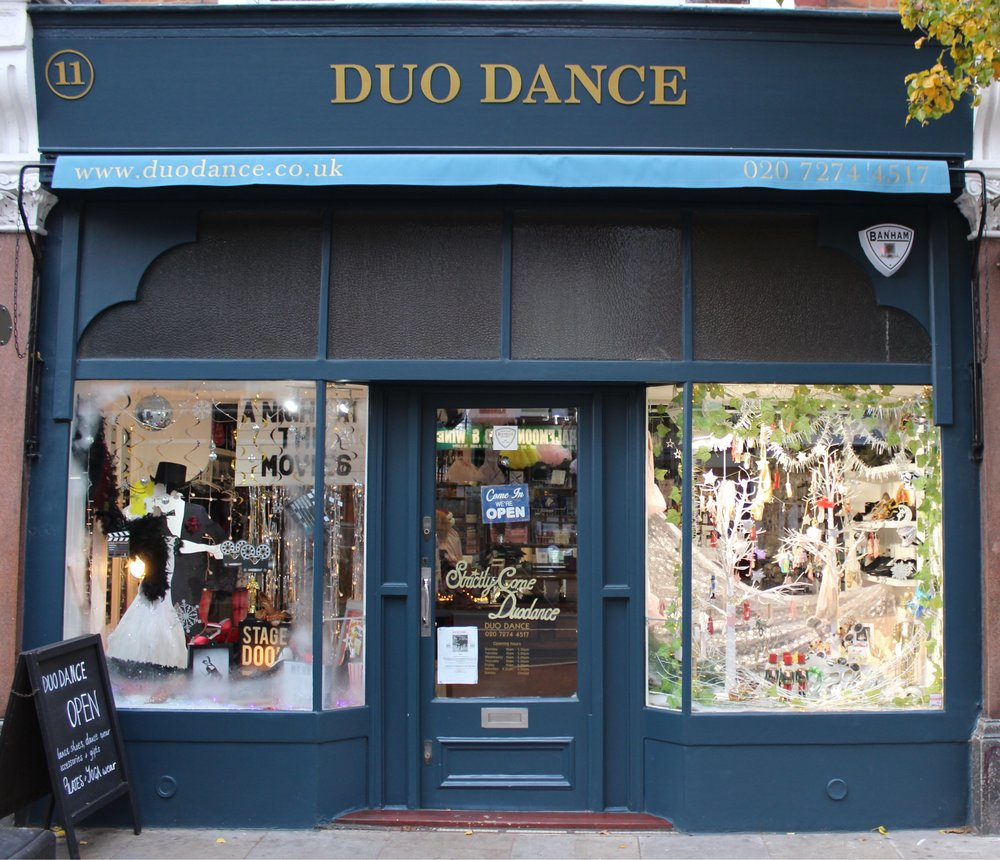 Duo Dance Dancing Accessories in Herne Hill South London Club Card.jpg