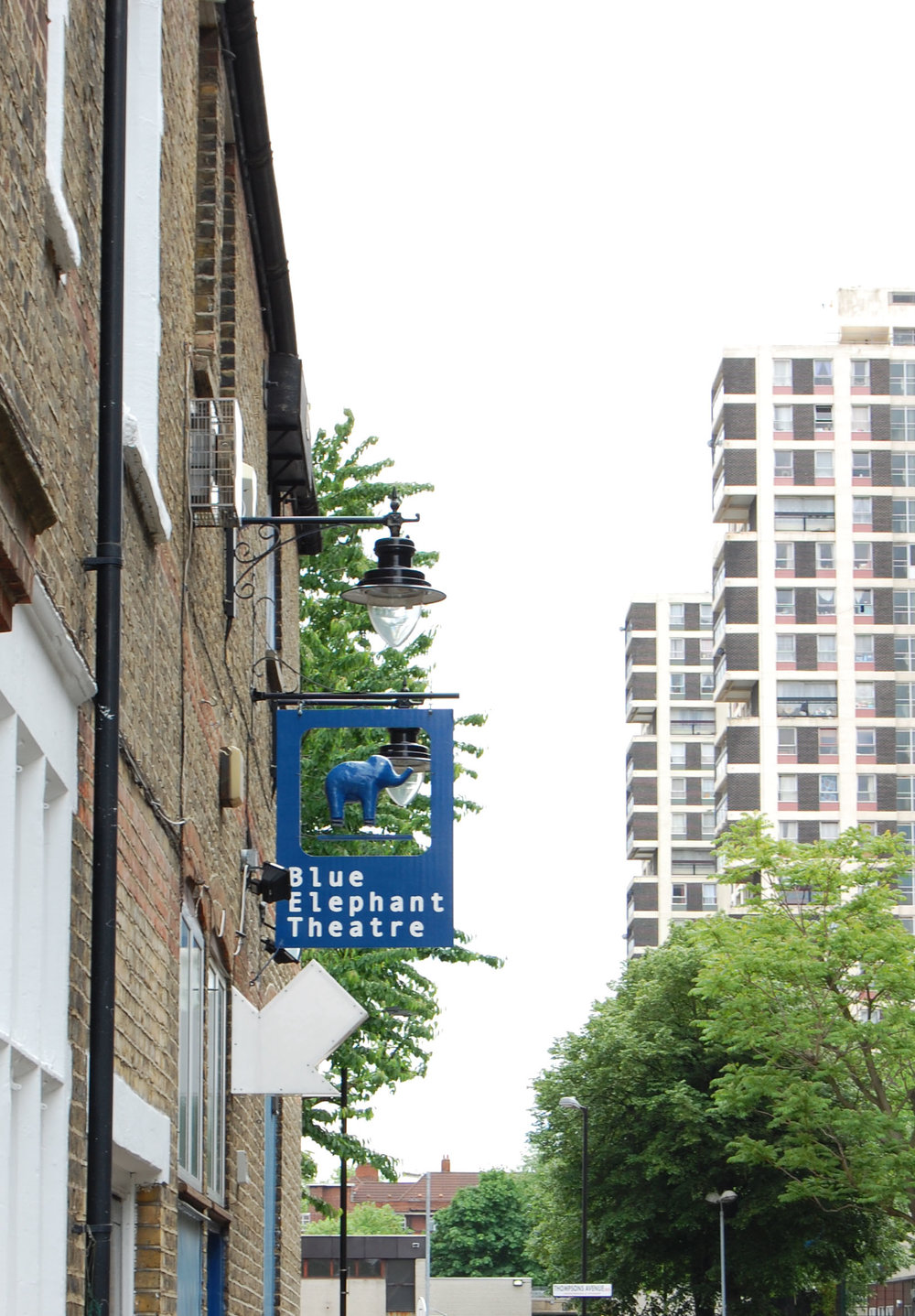Blue Elephant Theatre in Camberwell South London Club Card .jpg