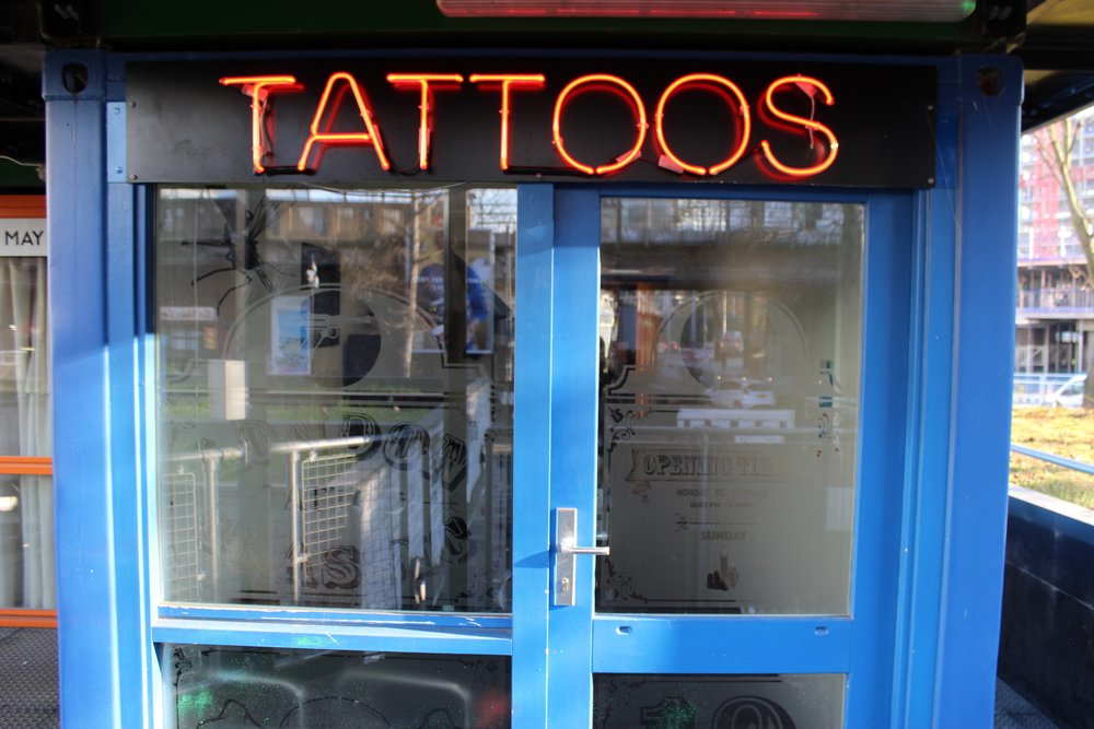 London classic south london club for Tattoo shops in london
