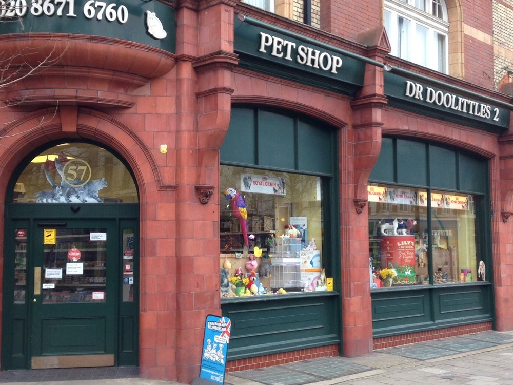 Dr Doolittles Pet Shop in Streatham South London Club Card.jpg