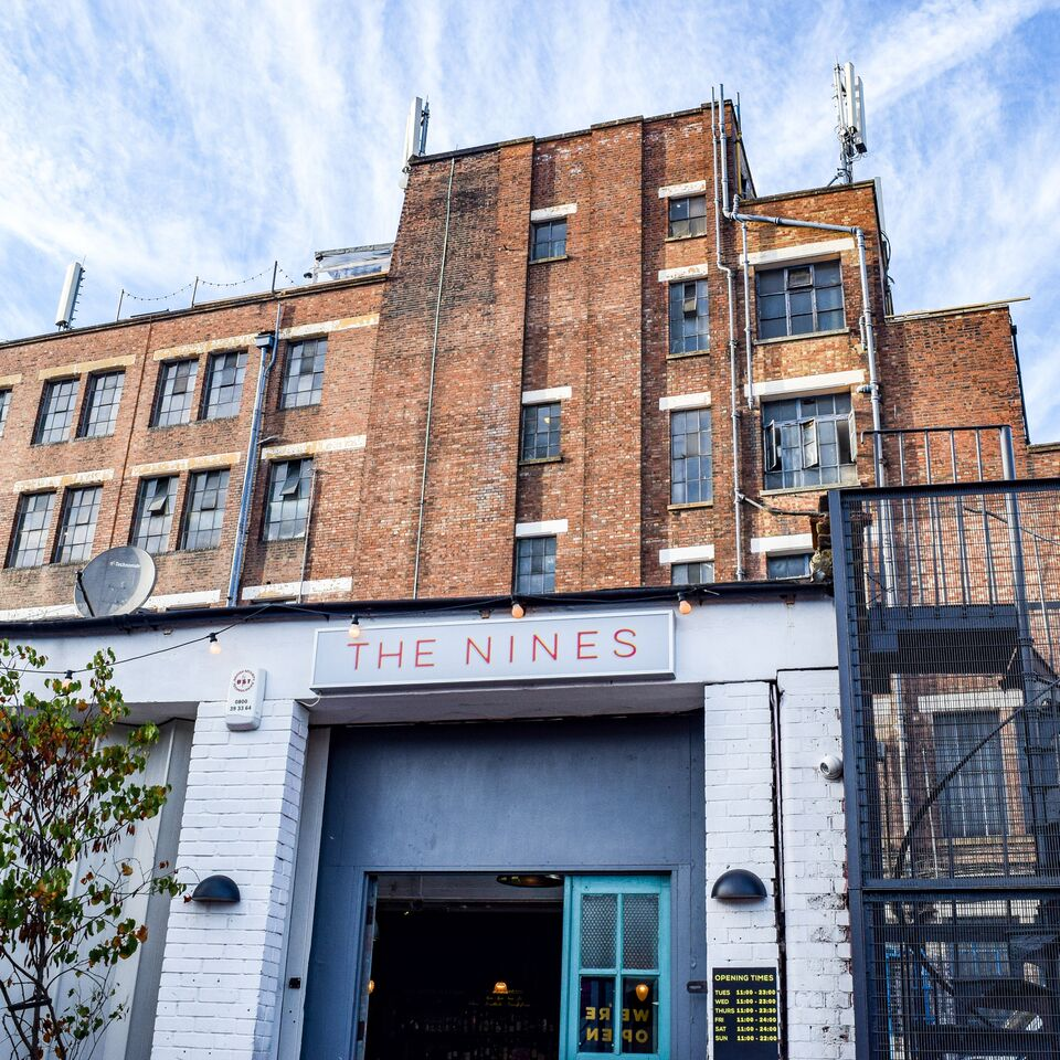 The Nines Cafe in Peckham South London Club Card 2.jpg