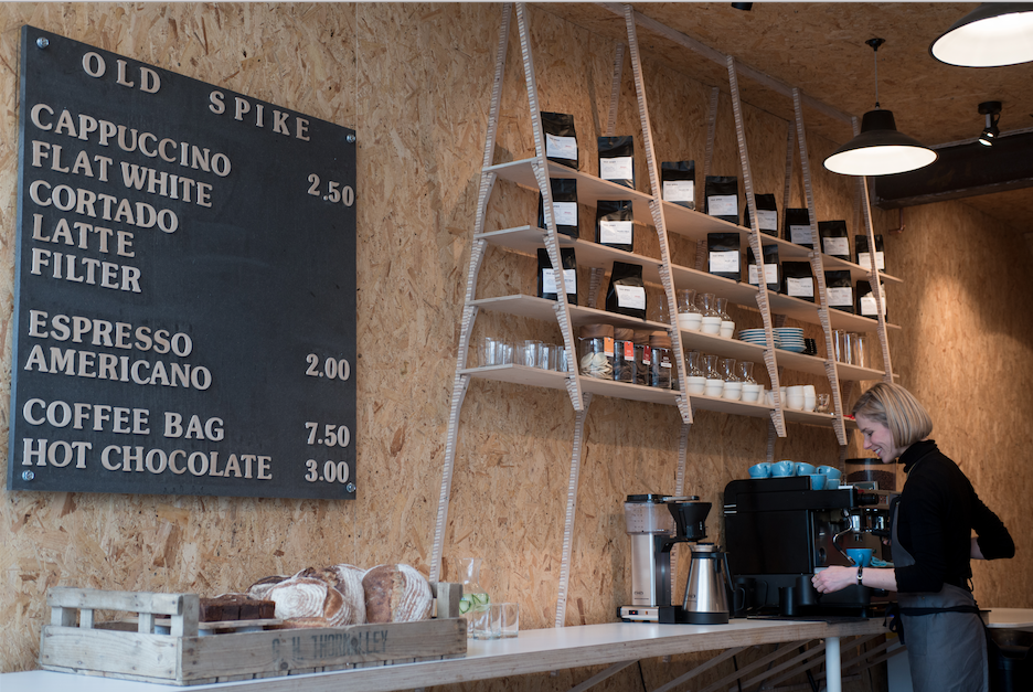 Old Spike Roastery & Coffee Shop in Peckham