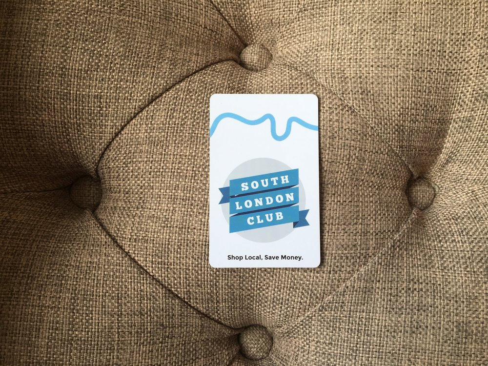 HITHER GREEN DISCOUNT CARD SOUTH LONDON CLUB CARD