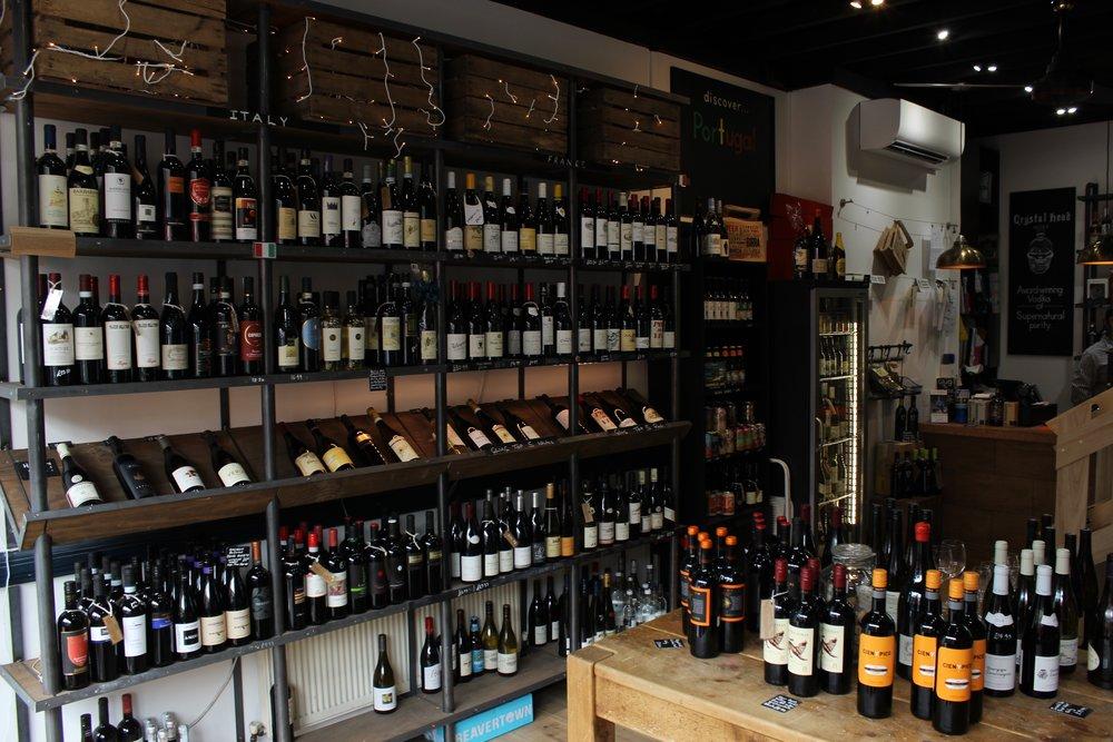 Glug Wine Bar and Shop in Putney South Lodnon Club Card 6.jpg