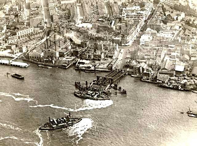 Ferry in 1925