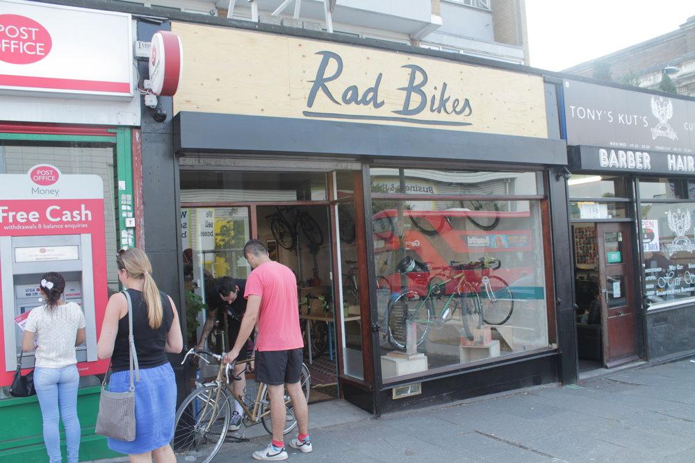 Rad Bikes in New Cross1.JPG