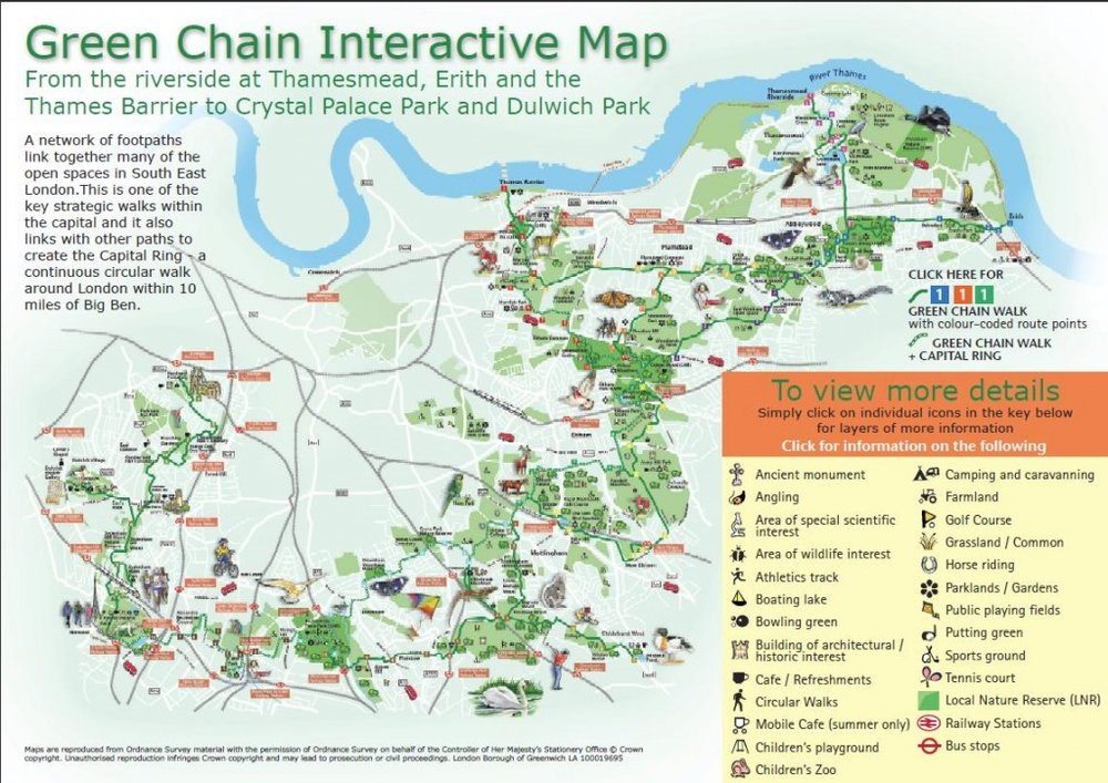 A Guide To The Green Chain Walk South London Club