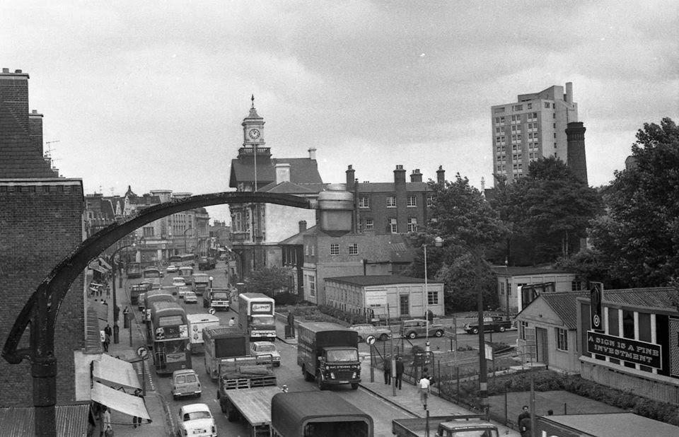 New Cross Road in 1970