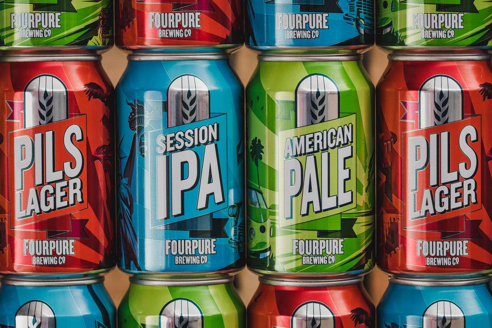 Fourpure Brewing Co. Brewery in South London Club Card 4.jpg