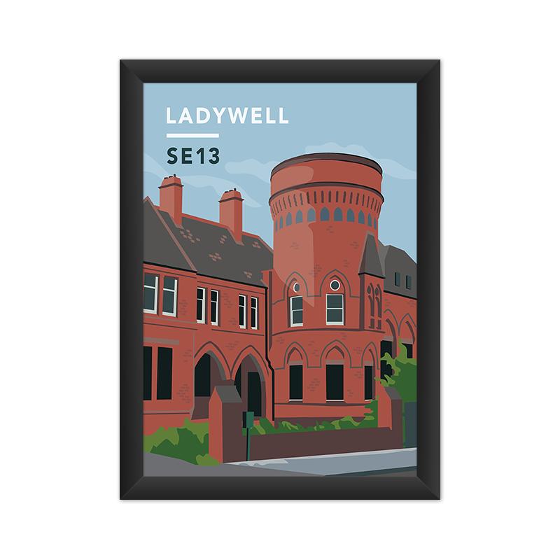Ladywell Playtower Print