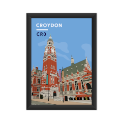Rep Croydon and grab our fab print !