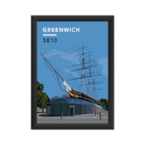 Our Greenwich Cutty Sark Art Print