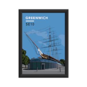Our Greenwich Cutty Sark Art Print
