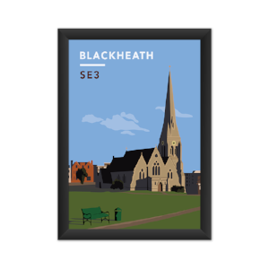 Blackheath All Saints Church Art Print!   Click here  to grab yours