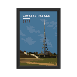 Crystal Palace Transmitting Station Giclée Art Print