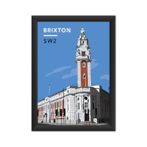 Lambeth Town Hall Art Print - SW2