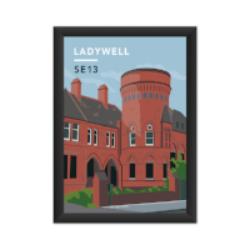 Grab the Ladywell Playtower Art Print!