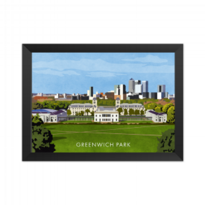Our First Class  Greenwich Park Art Print