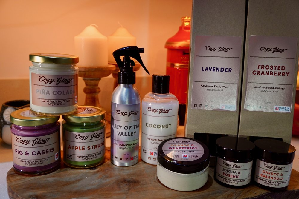 Cozy Glow Wellbeing Products and Candle Maker in Croydon South London Club Card 2.jpg