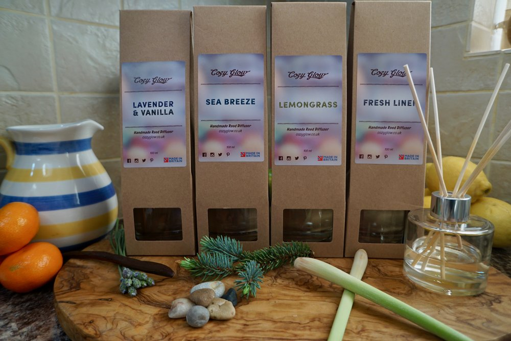 Cozy Glow Wellbeing Products and Candle Maker in Croydon South London Club Card 4.jpg