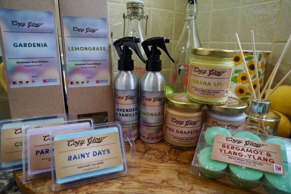 Cozy Glow Wellbeing Products and Candle Maker in Croydon South London Club Card 3.jpg