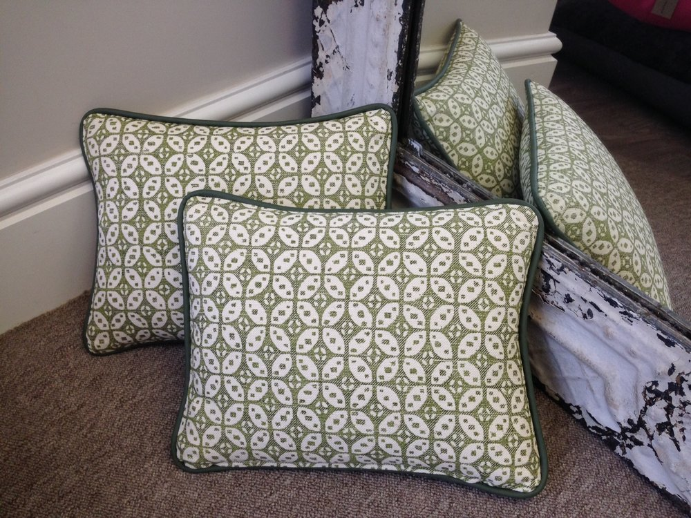 The London Cushion Company bespoke cushions in Battersea South West London Club Card 12.JPG