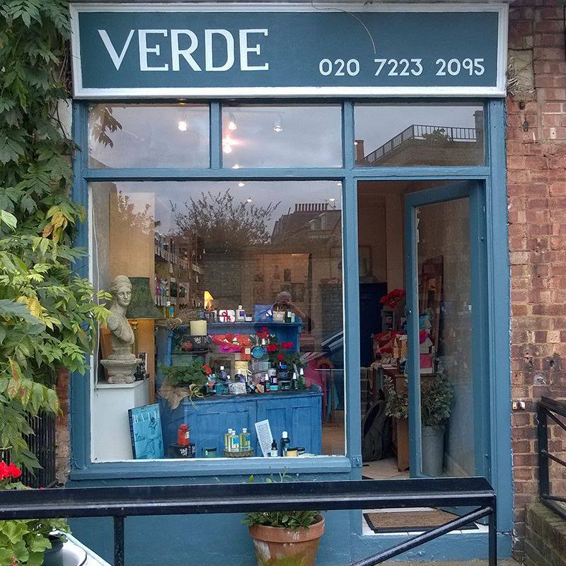 Verde Cosmetics in Battersea South West London Club Card .jpg