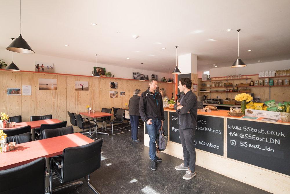 55 East Cafe in Walworth South East London Club Card 2.jpg