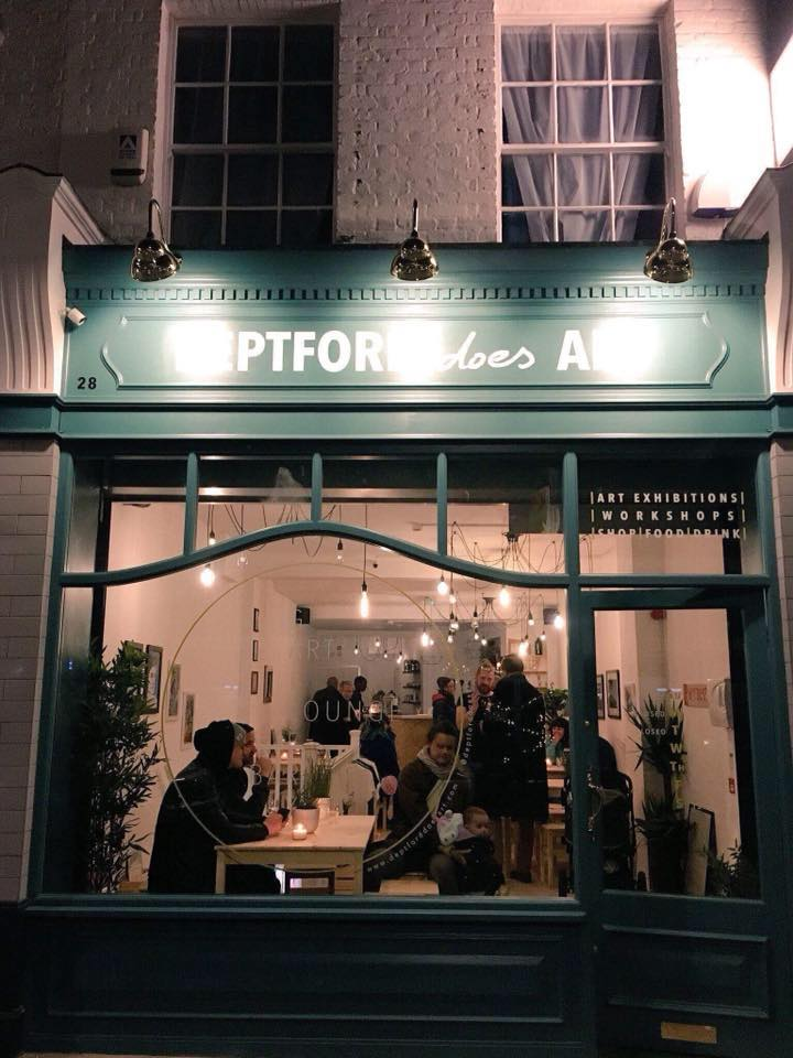 Deptford Does Art Gallery events and cafe in Deptford South East London Club Card .jpg